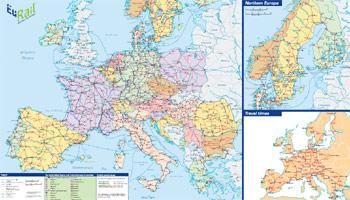 Eurail Map 2009