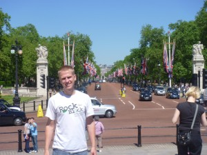 Aaron in London