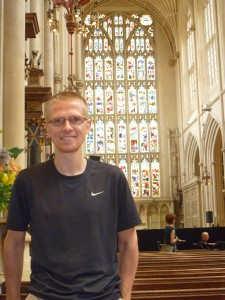 Aaron in Bath cathedral