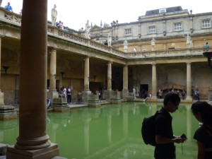 Main bath house in Bath