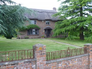 Elaine's house in the English country