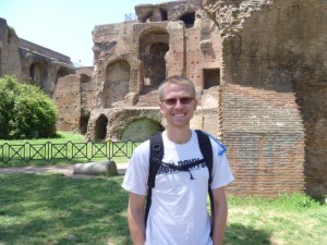 Aaron at Palatine Hill