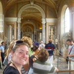 Christy in the Vatican museum