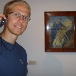Aaron and a Van Gogh