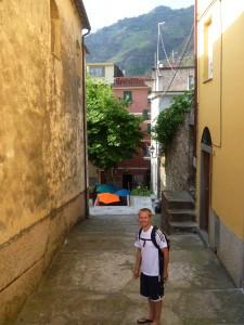 Aaron in Corniglia