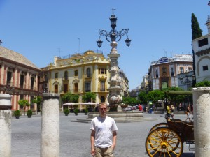 Aaron in Seville