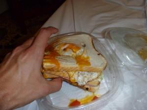 Surf sandwich in Tarifa