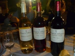 Arnaud de Villeneuve wines