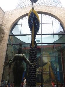 Part of the Salvador Dali museum