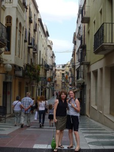 Christy and Susan in Figueres