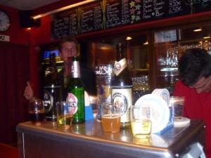 Bavarian beer tasting