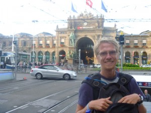 Aaron in Zurich