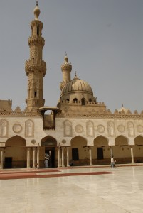 The Al-Azhar mosque