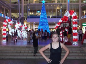 Christy and Thailand Christmas decorations