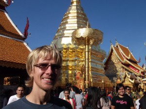 Aaron at Doi Suthep