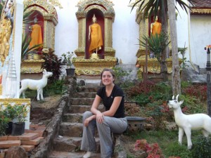 Christy at Doi Suthep