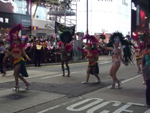 Samba dancers from London
